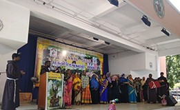 OFM Franciscan India - Nesakkaram Celebrates the 800th Anniversary of St. Francis Meeting the Sultan