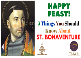 OFM Franciscan India - Five Things you should know about St. Bonaventure