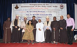 OFM Franciscan India - Holy Land Commissariat Now in India