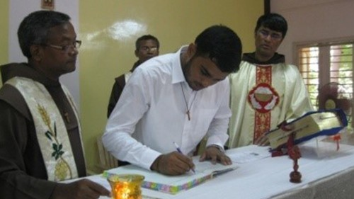 OFM Franciscan India - Reception of the Postulants