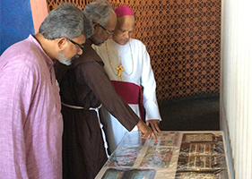 OFM Franciscan India - Stamp Exhibition