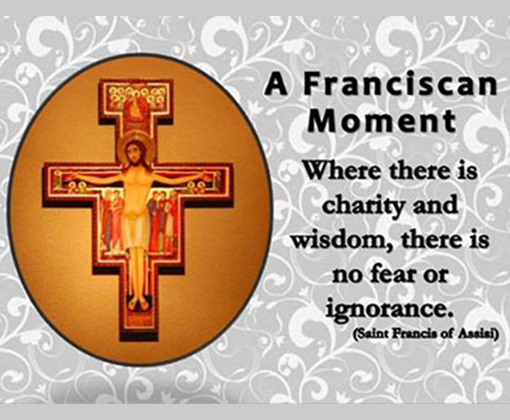 OFM Franciscan Slider